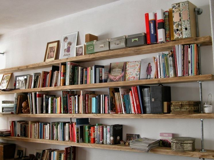 Libreria originale for the home librerie fai da te for Arredamento originale casa