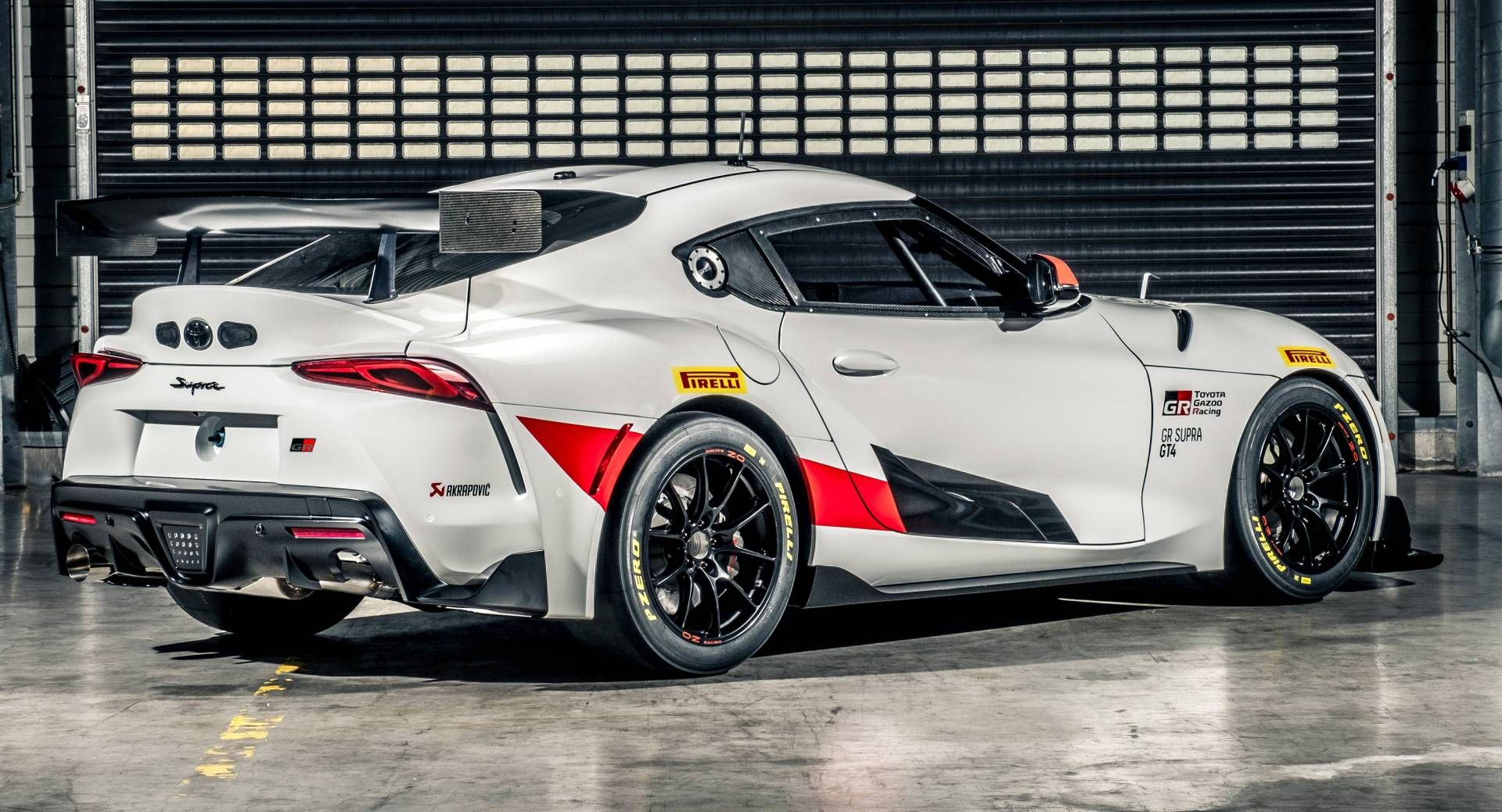 Toyota Reveals Gr Supra Gt4 For Customer Teams Debut Set For 2020 Carscoops Classic Racing Cars Toyota Supra