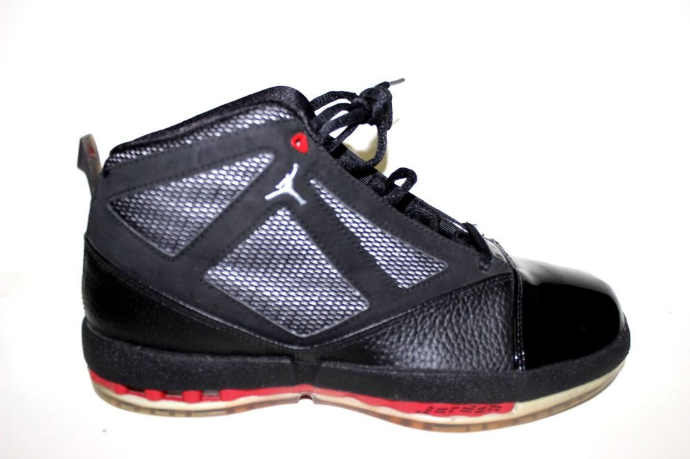 new style 1cb11 4bc97 Nike Air Jordans 16 XVI Shoes Size 6.5Y Bred Black Red 322754-061