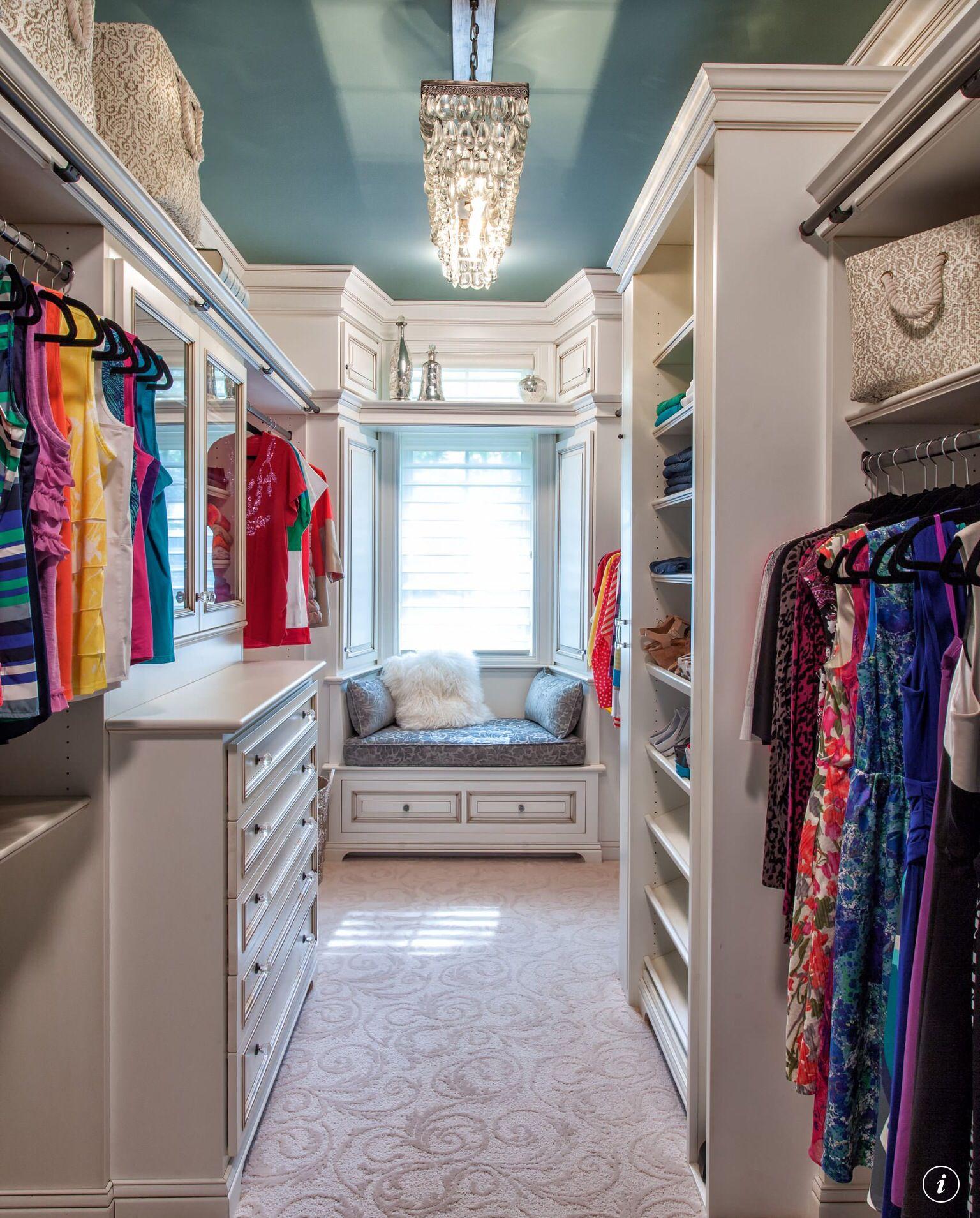 Pin by Katherine Wilson on DREAMY DECOR Closet design