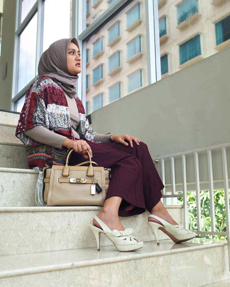 80 Fashion Hijab Casual Remaja Kekinian Simple Selebgram