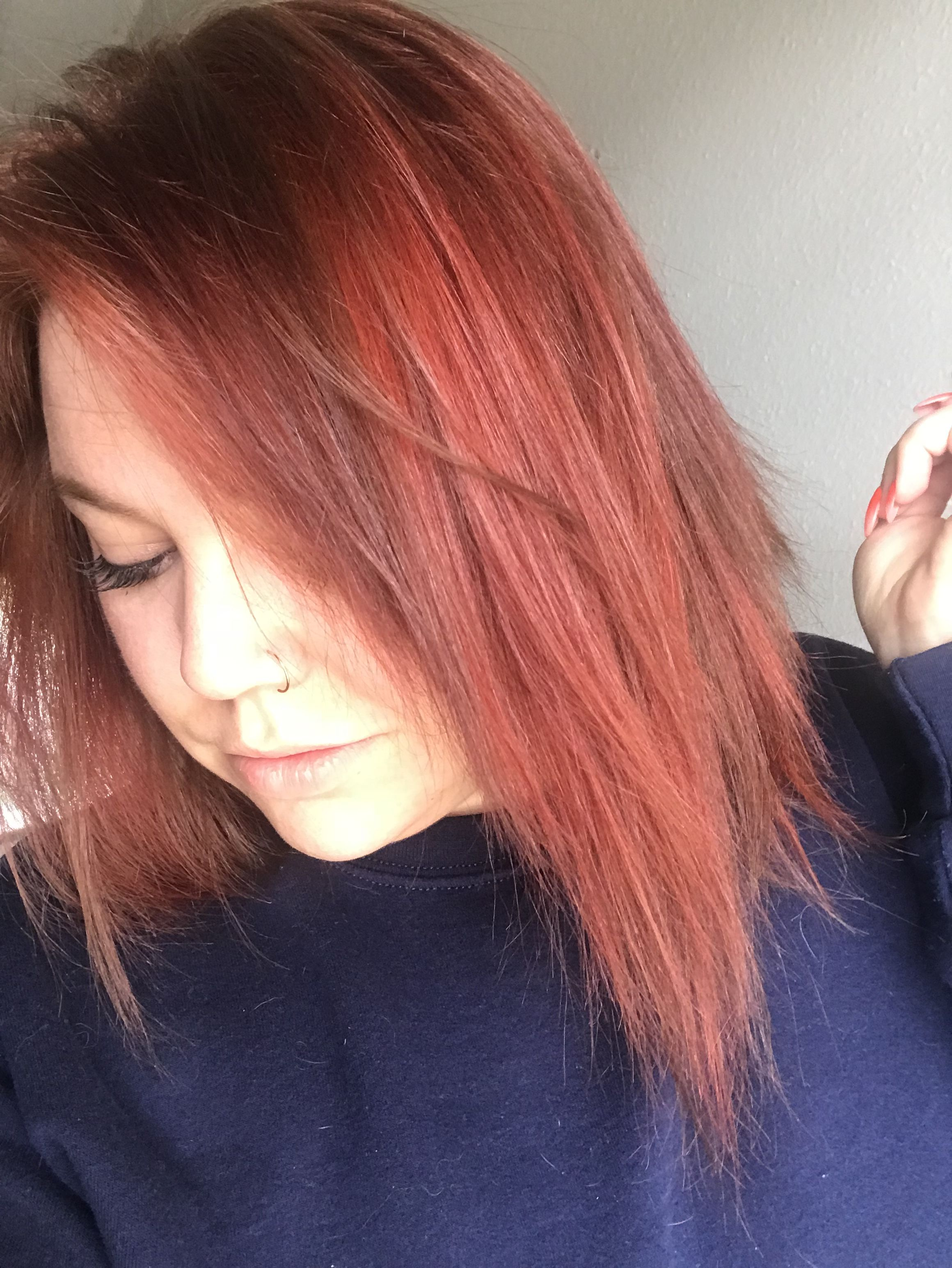 7ir And 6wr Ion Color Brilliance Hair Color Red And Brown Hair Two