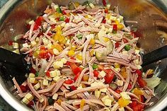 Photo of Ensalada picante de pimiento morrón, queso y salchicha de Mutti79 | Chef
