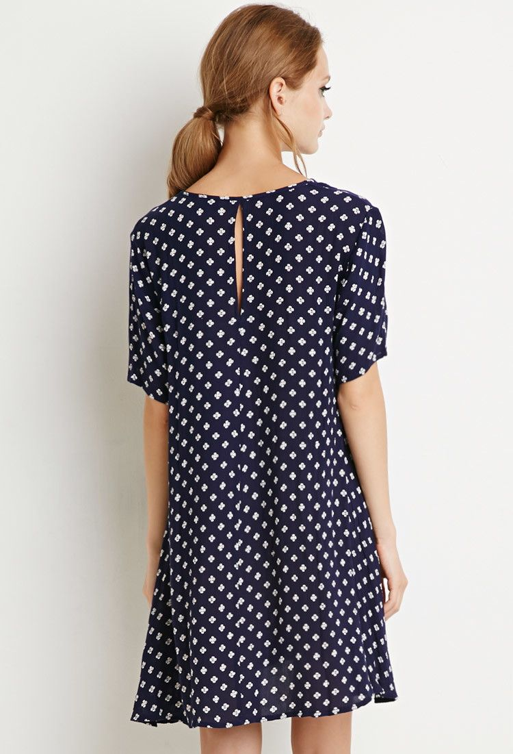 Button-Down Floral Dress | Forever 21 - 2000156576