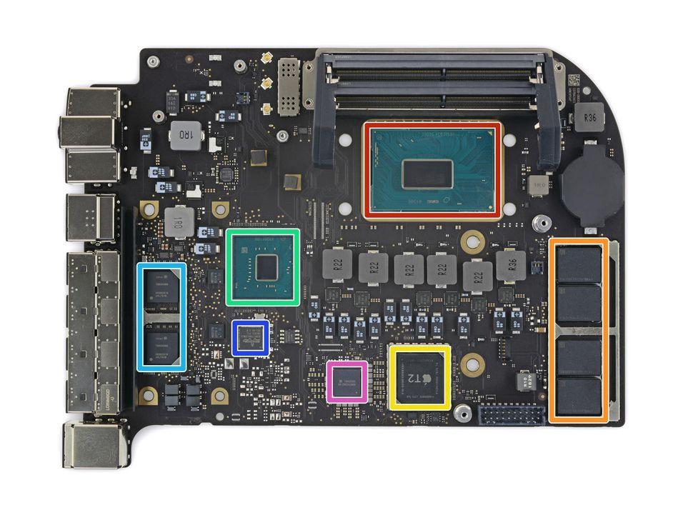 Mac mini 2018 teardown shows swappable storage traded for