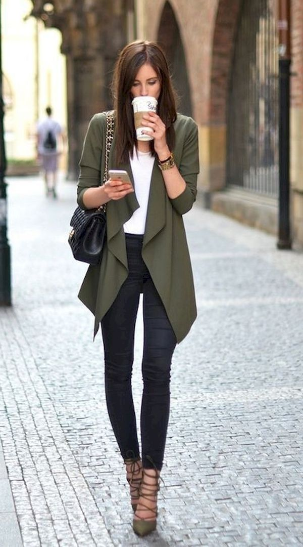 45 Herbst Work Outfits für Frauen - Pinspace #workoutfitswomen