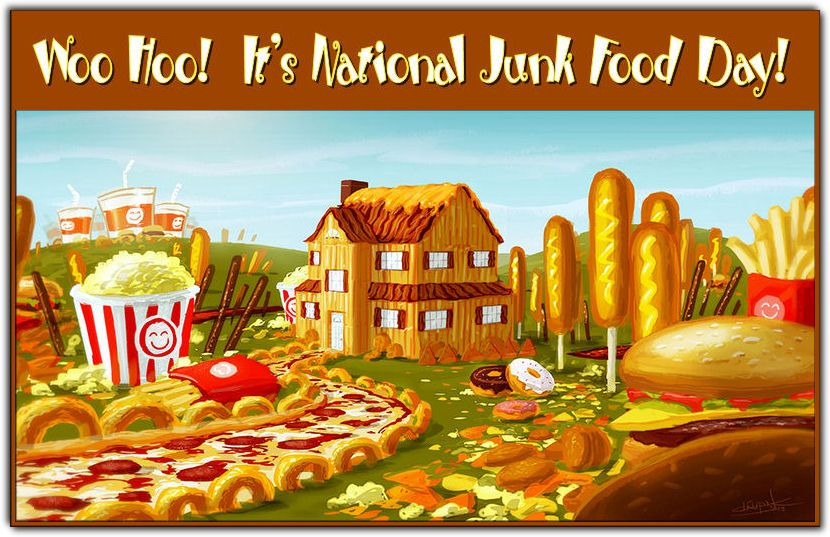 July 21 is National Junk Food Day Junk food, National