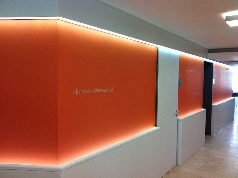Indirekte beleuchtung Flure   Dielen Pinterest Indirekte - hotelzimmer design mit indirekter beleuchtung bilder
