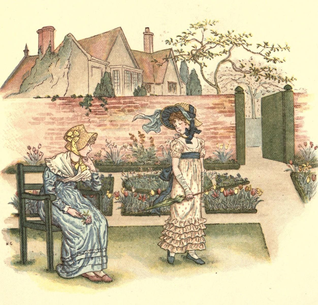 bumble button: Kate Greenaway illustrations to share with you ...