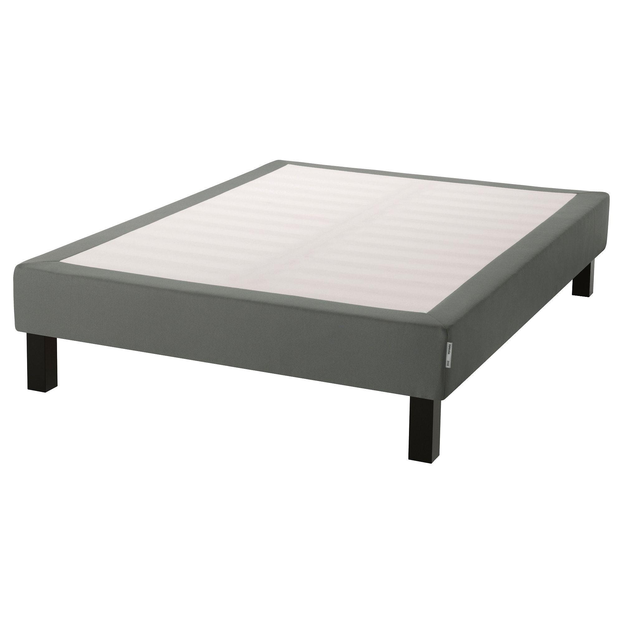 IKEA ESPEVAR Dark Gray Slatted mattress base with legs