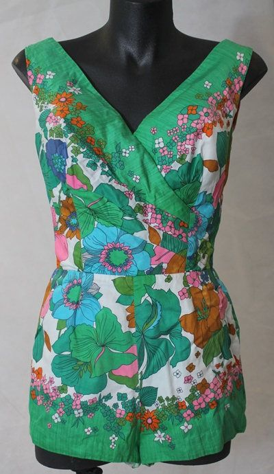257e3eb0a6fa Vintage Kamehameha Miss Hawaii Playsuit   Swimsuit