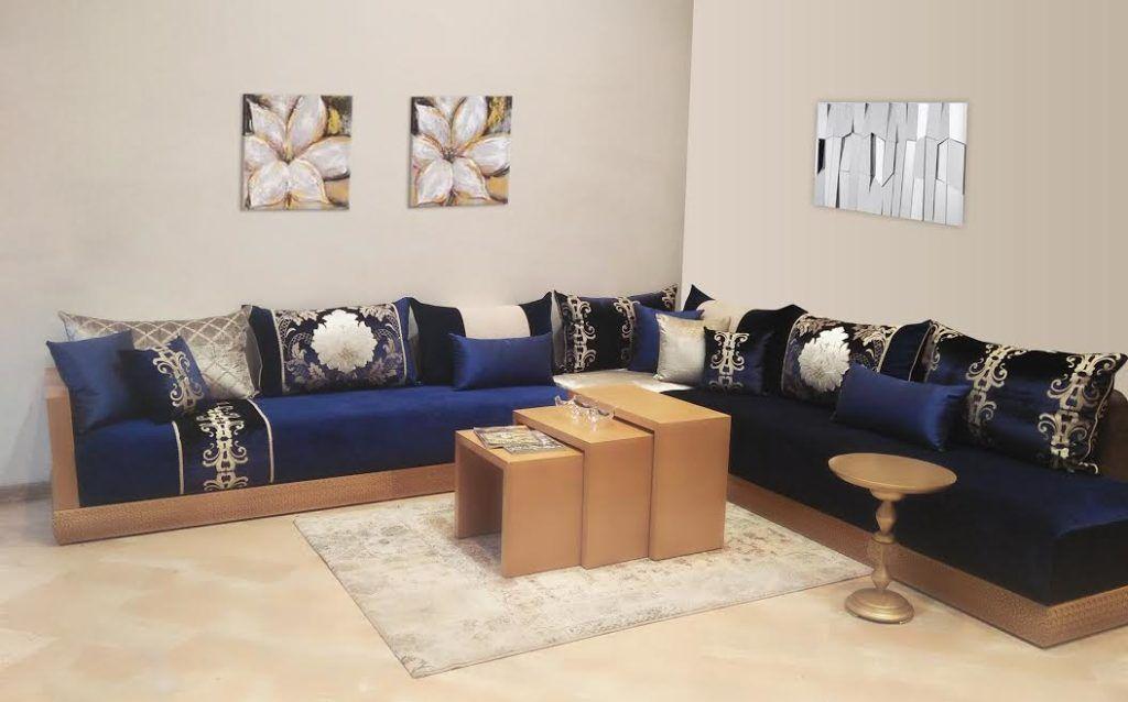Maawak Modern Houses Interior Moroccan Living Room Sofa Design