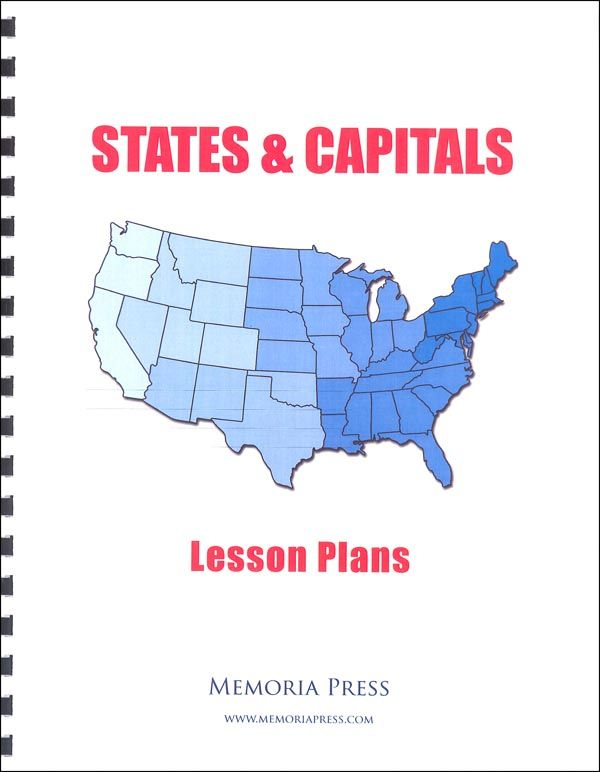 States and Capitals Lesson Plans | Main photo (Cover)