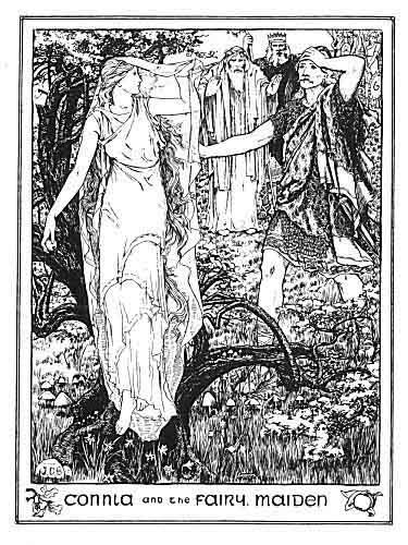 Connla and the Fiary Maiden | O\'er the River Liffey | Pinterest ...