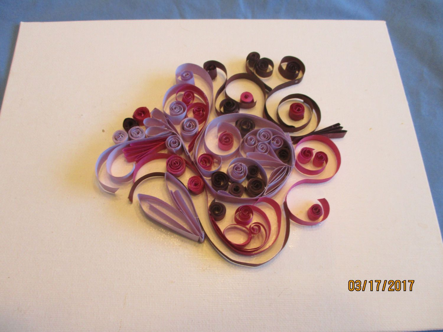 Quilled wall artquilled home decorpaper quilled artwall decor