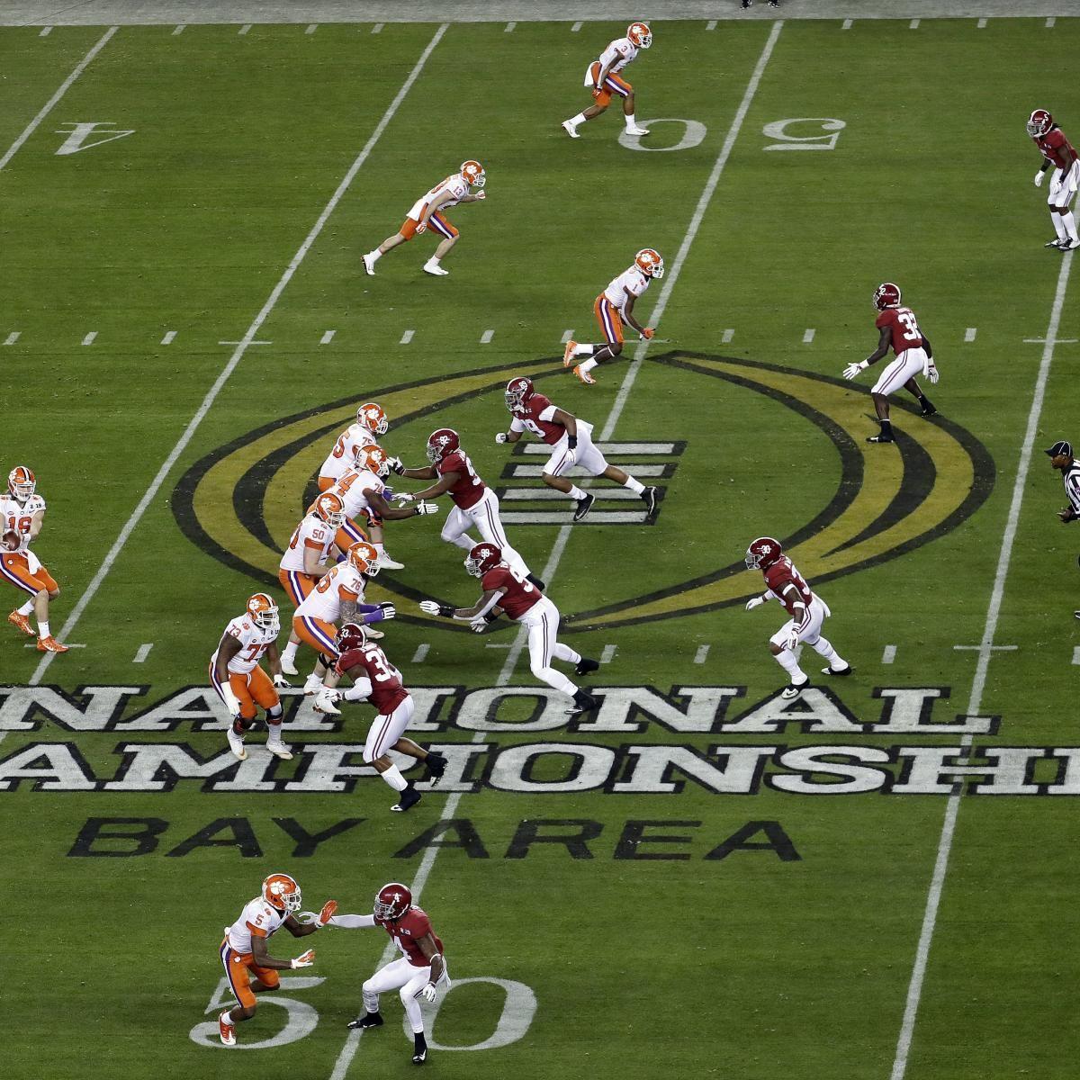 2020 College Football Playoff, Championship Schedule