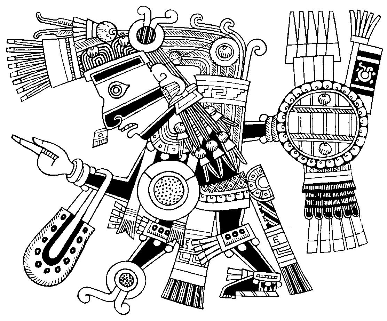 tezcatlipoca myth u0026 glory pinterest aztec aztec symbols