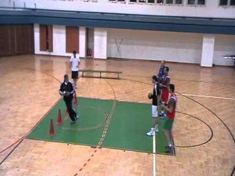des exercices pour entrainement pivot   handball - YouTube ...