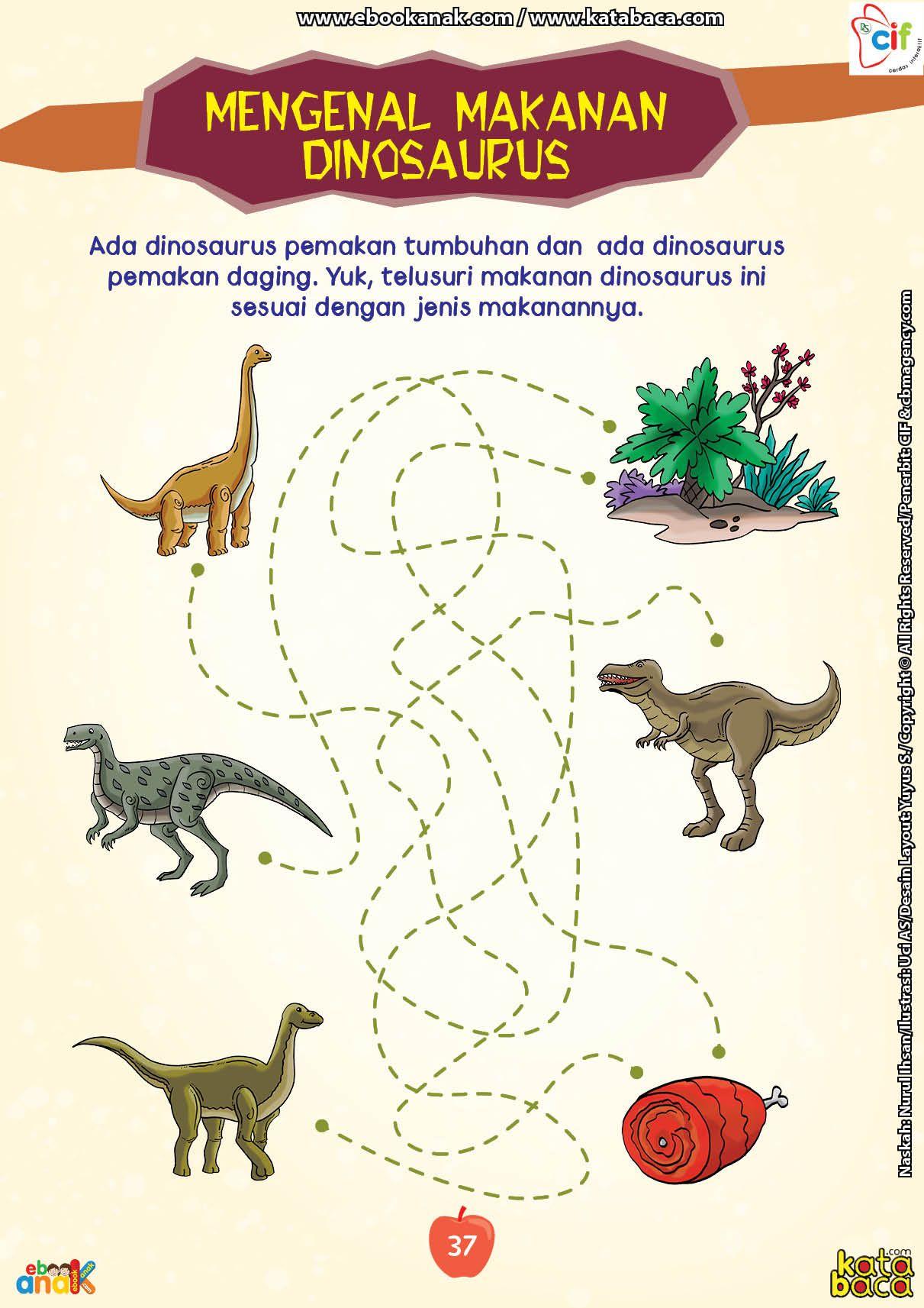 Makanan Apa Saja Yang Bisa Dimakan Dinosaurus Buku Online Buku Anak Buku