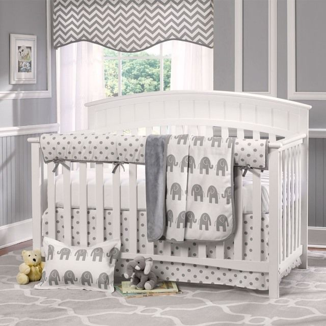 babyzimmer nautral motto elephanten farben wei grau. Black Bedroom Furniture Sets. Home Design Ideas