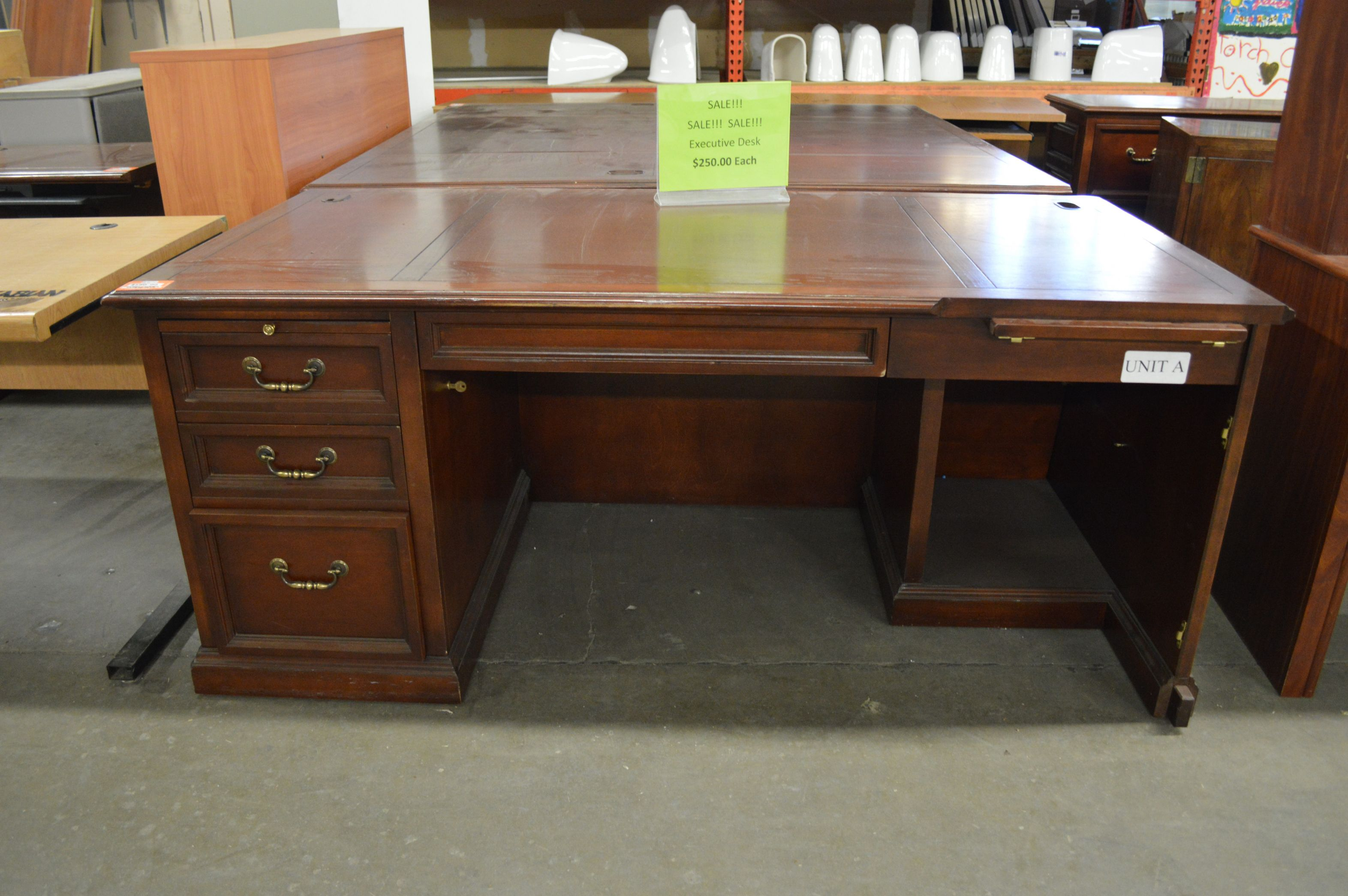 99 Used Executive Desk For Sale Contemporary Home Office