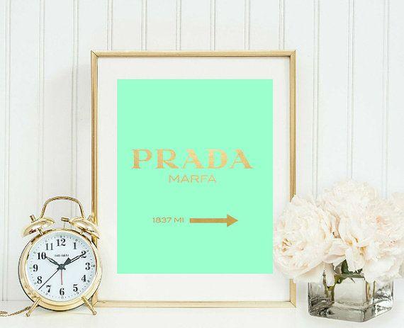 prada marfa kate spade inspired printable von girlsstuffdesigns - Blair Waldorf Schlafzimmer Dekor