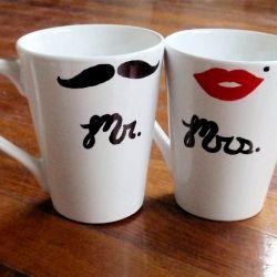 Mr. & Mrs. mugs...Keeyoot!