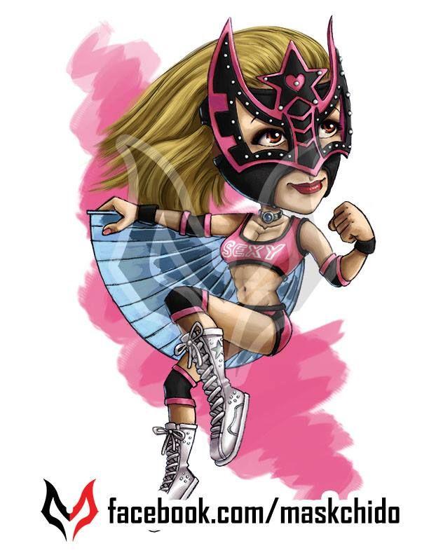Lucha Underground Sexy Star Prints On Sale Facebookcommaskchido