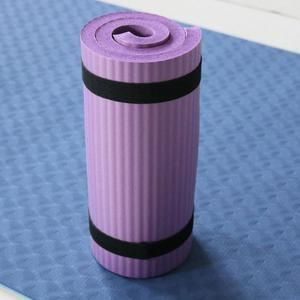 Premium 10mm Extra Extra Thick Non Slip Exercise & Fitness Pad for All Types of Yoga, Pilates & Floor Workouts (23.6