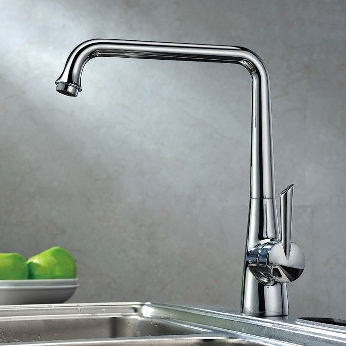 Adda Single Lever Modern Kitchen Faucet, coordinating well with ...