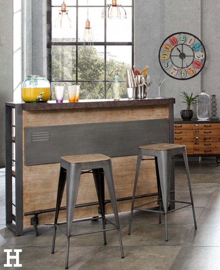 love it bar metropolis - Wohnzimmer Industrial Style