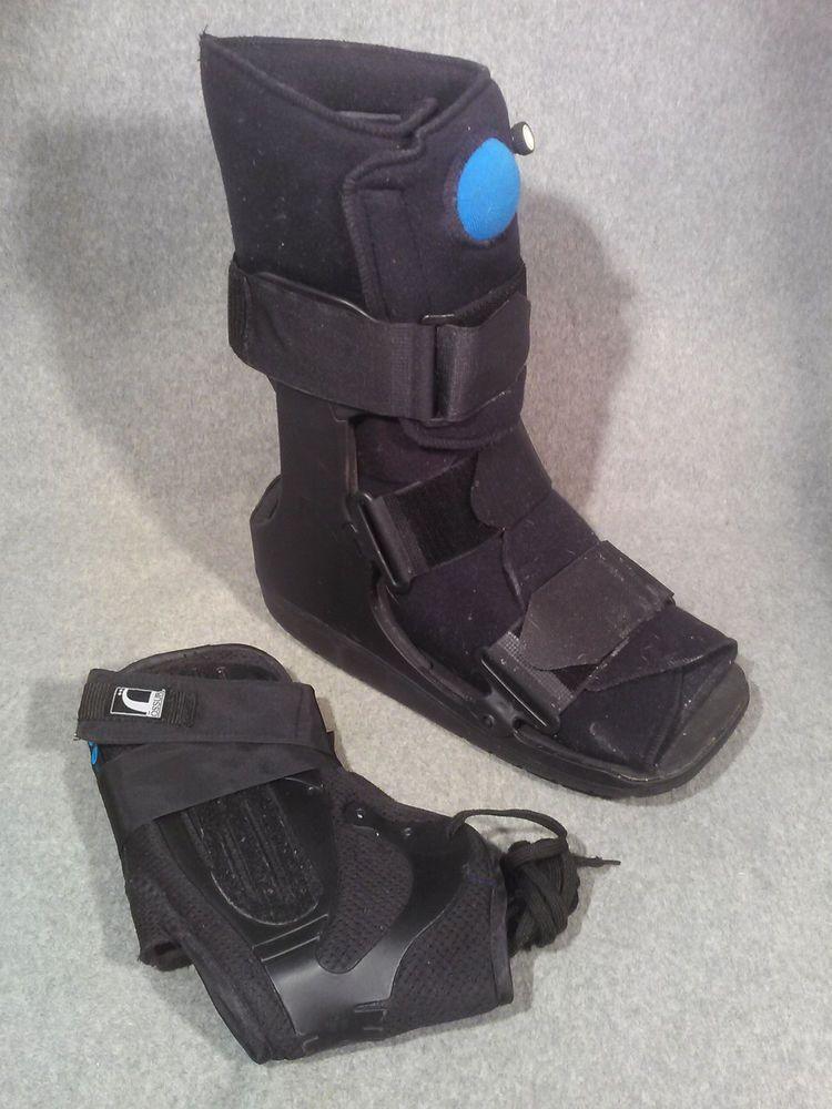 Inflatable walking cast boot brace footshinsize xlarge