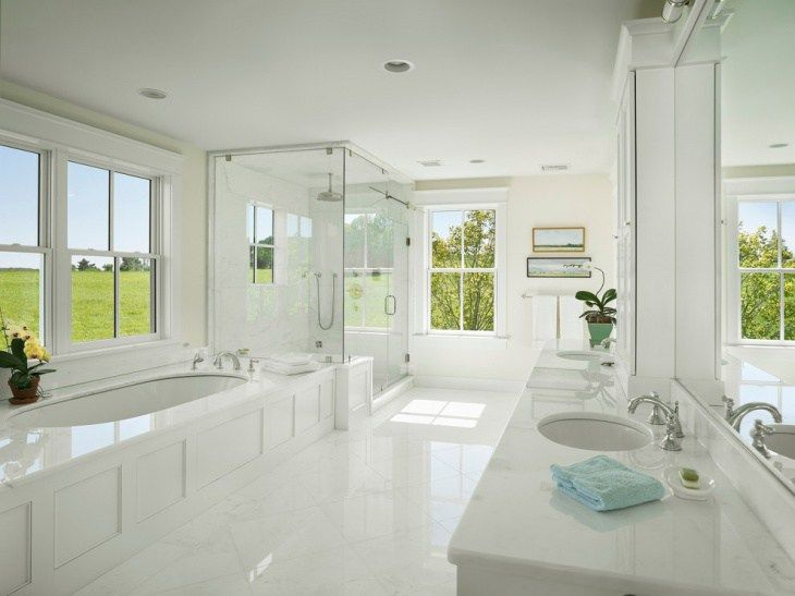 white-bathtub-steam-shower   Home improvements   Pinterest   Steam ...