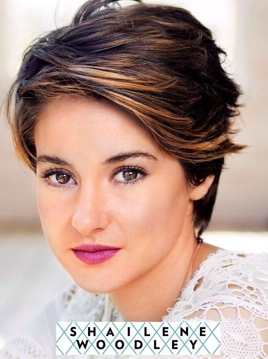 Easy Hairstyles For Thick Hair Simple 25 Hottest Short Pixie Cuts Right Now  Face Warm Highlights And