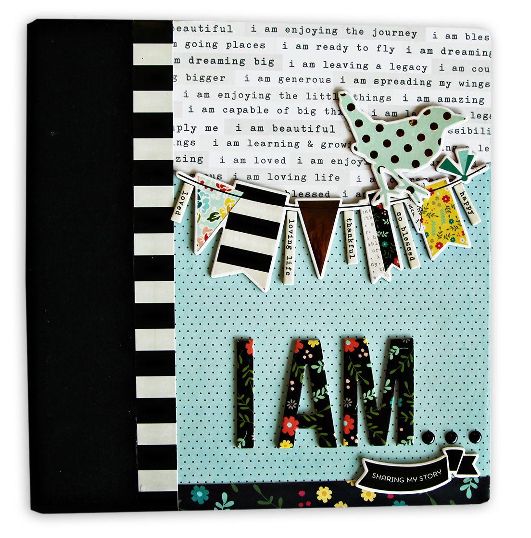 How to make scrapbook album cover - Album Cover Embellished Scrapbook Com Take Scrapbook