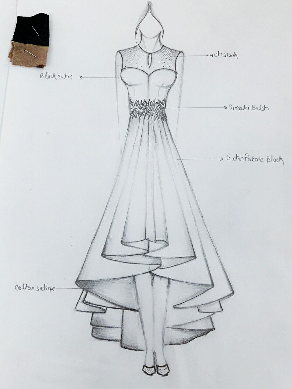 Dress For Couture Dress Design Drawing Illustration Fashion Design Dress Design Sketches