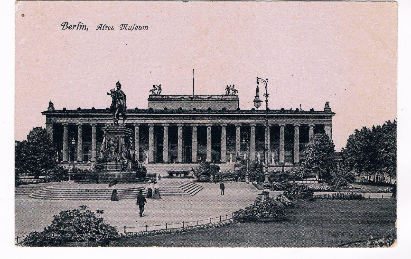 Ansichtskarte Berlin Altes Museum 1 Wk Feldpoststempel Berlin 24 5 16 Ebay Altes Museum Museum Insel Historische Fotos