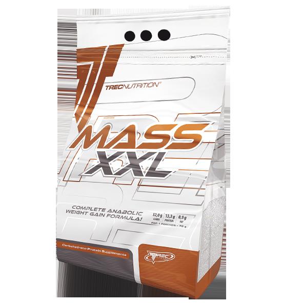 Trec MASS XXL 3KG +Shaker+1 porcja Odżywka, Suplementy