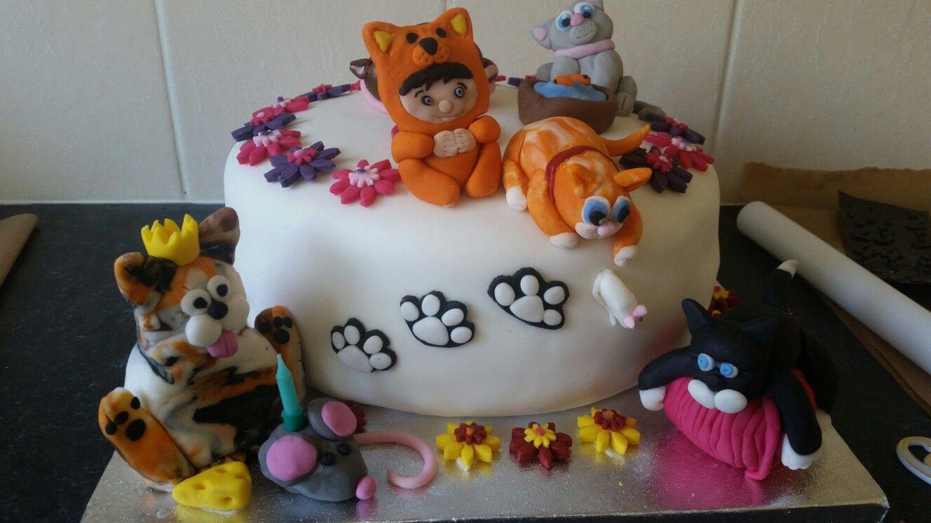 Terrific Crazy Cat Lady Cake My Cakes Cake Cakes For Women Birthday Cake Funny Birthday Cards Online Elaedamsfinfo