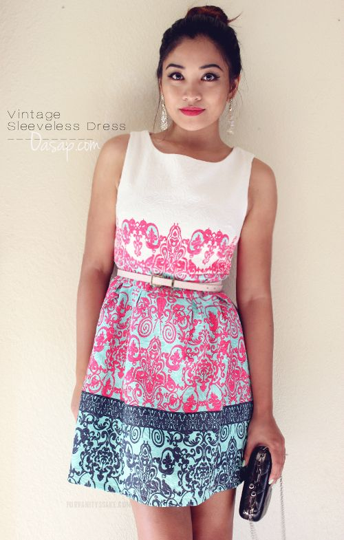 Beautiful Vintage inspired dress! See my more at http://forvanityssake.com/