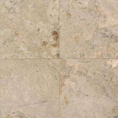 Napolina 12 In X 12 In Natural Stone Floor And Wall Tile 10 Sq Ft Case Natural Stone Tile Stone Tile Flooring Daltile