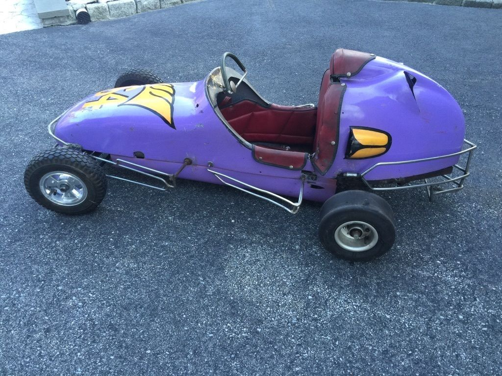 1958 Wahlborg 1/4 Midget mini race car go kart | Race cars for ...