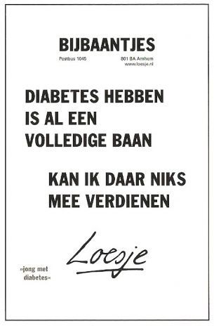 loesje spreuken diabetes berend ytsma   Loesje en Diabetes(dutch) | Teksten   Diabetes  loesje spreuken diabetes