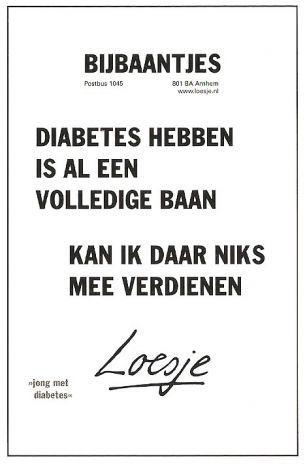 loesje spreuken diabetes berend ytsma   Loesje en Diabetes(dutch) | Teksten   Diabetes  loesje spreuken diabetes