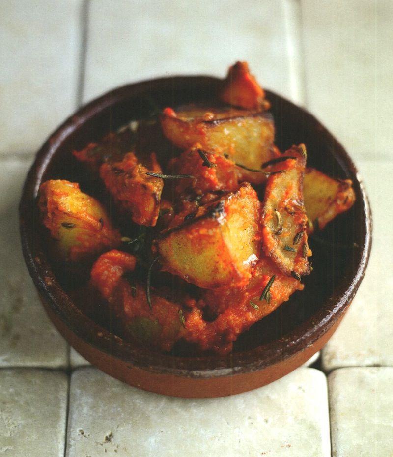 Patatas Bravas- tapas style potatoes- Jamie Oliver