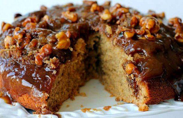 Portuguese Caramel And Walnut Cake Recipe Walnut Cake Cake