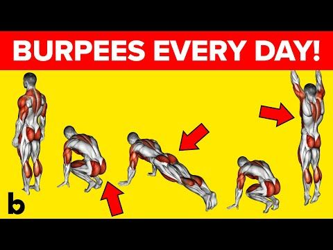 Do Burpees Every Day And See What Happens To Your Body - YouTube