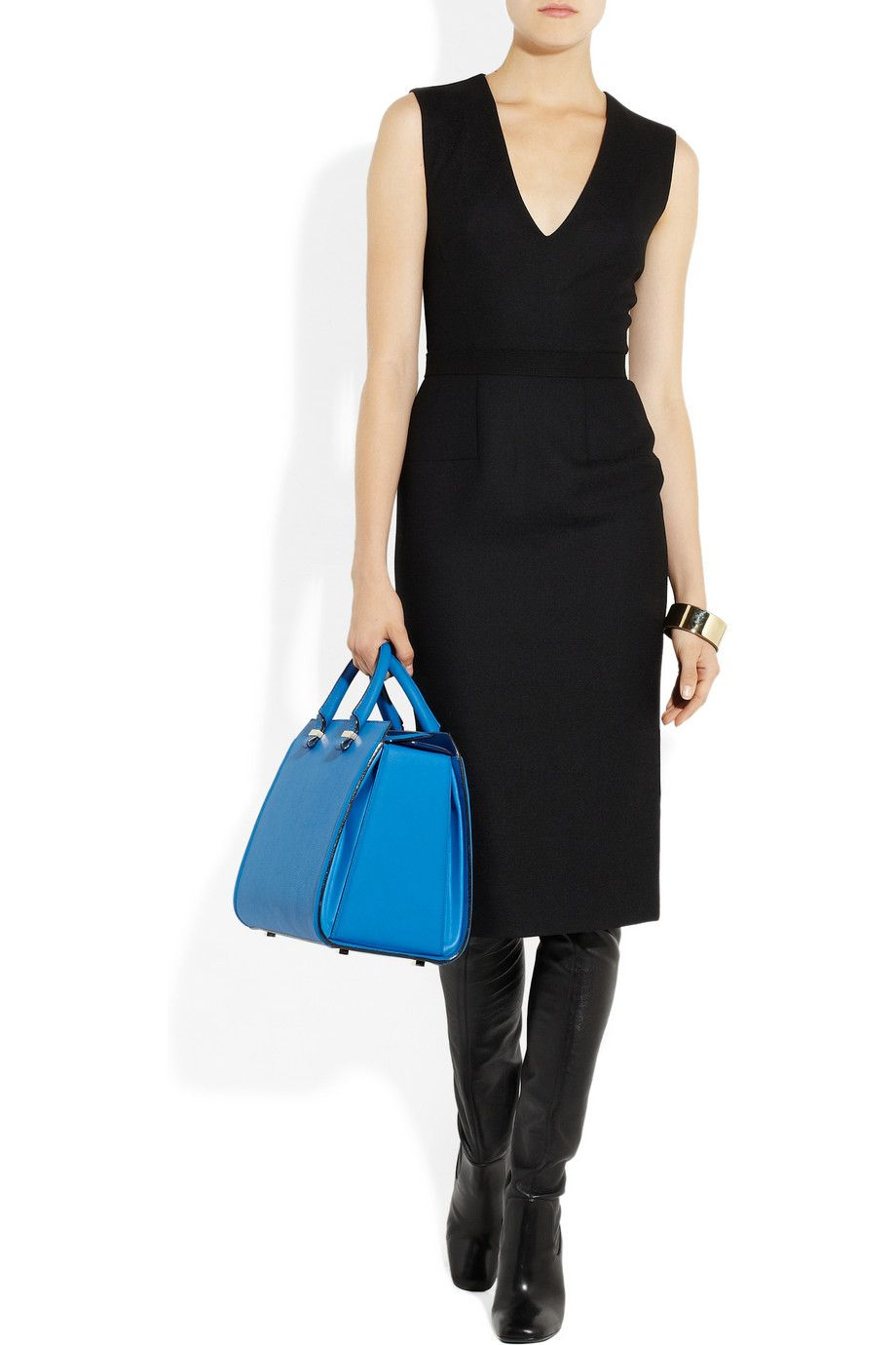 Ahhhhhh......Victoria Beckham|Victoria leather tote|NET-A-PORTER.COM
