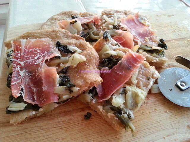Foodie in Translation: La Rubrica del Lunedì: Pizza bietole e prosciutto