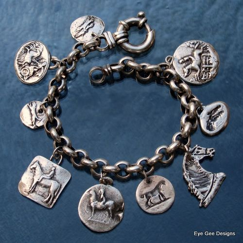 Create Your Own Charm Bracelet Using These Examples As Inspiration To Build Add The Rolo Chain Shown Below Ping Cart